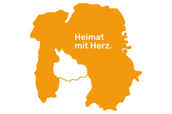 Karte vom Landkreis Aschaffenburg
